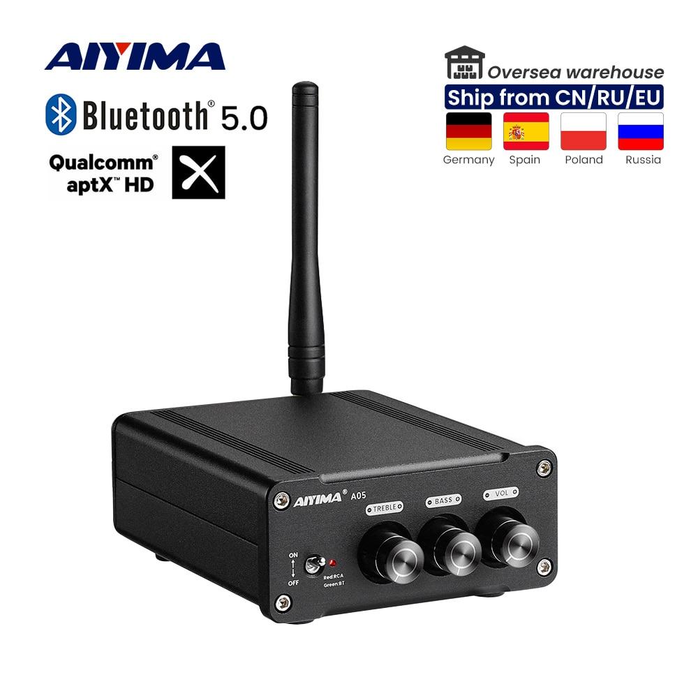 AIYIMA TPA3221 مكبر كهربائي بلوتوث QCC3034 ستيريو الصوت الرقمي مكبر صوت APTX-HD مكبر صوت سوبر TPA3116