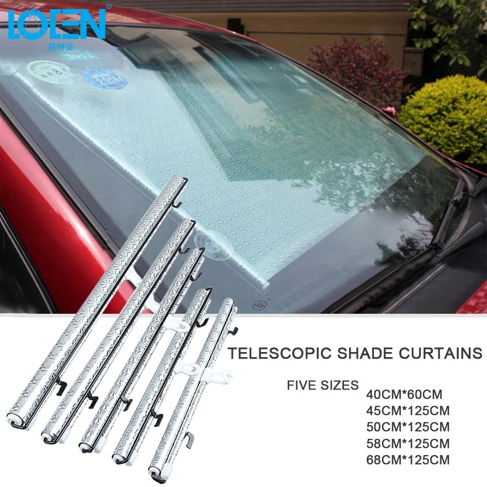 Parasoles de coche reflectante láser UV bloqueada para parabrisas, tapa de succión, cubierta de ventana trasera, parasol de 40CM * 60CM 45CM * 125CM 50CM * 125CM