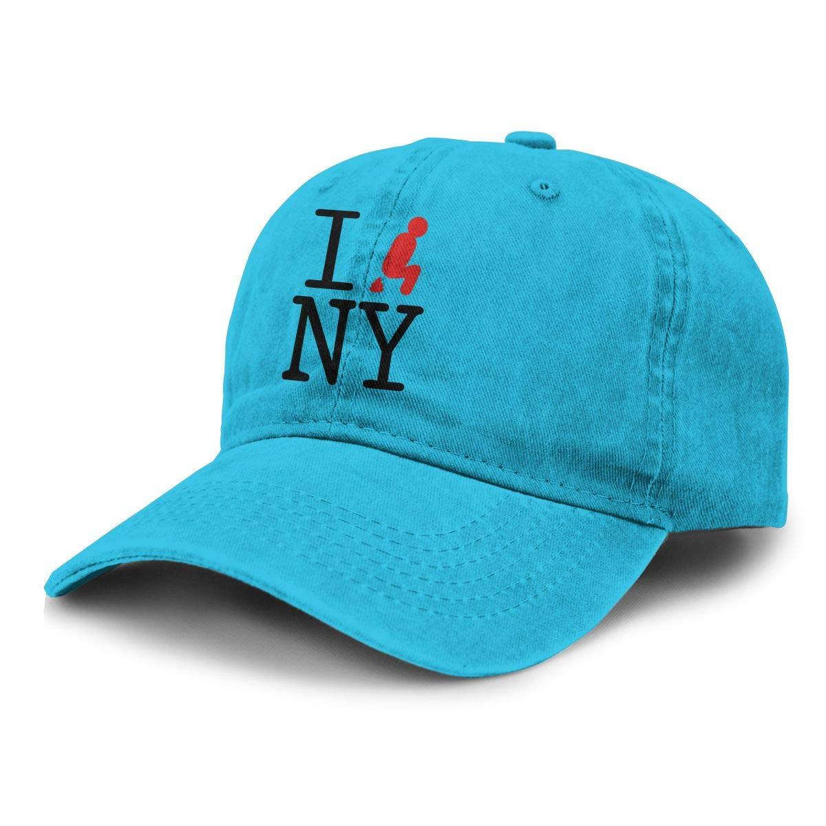 Gorra de béisbol Unisex para adultos I Shit On NY gorra de vaquero Snapback