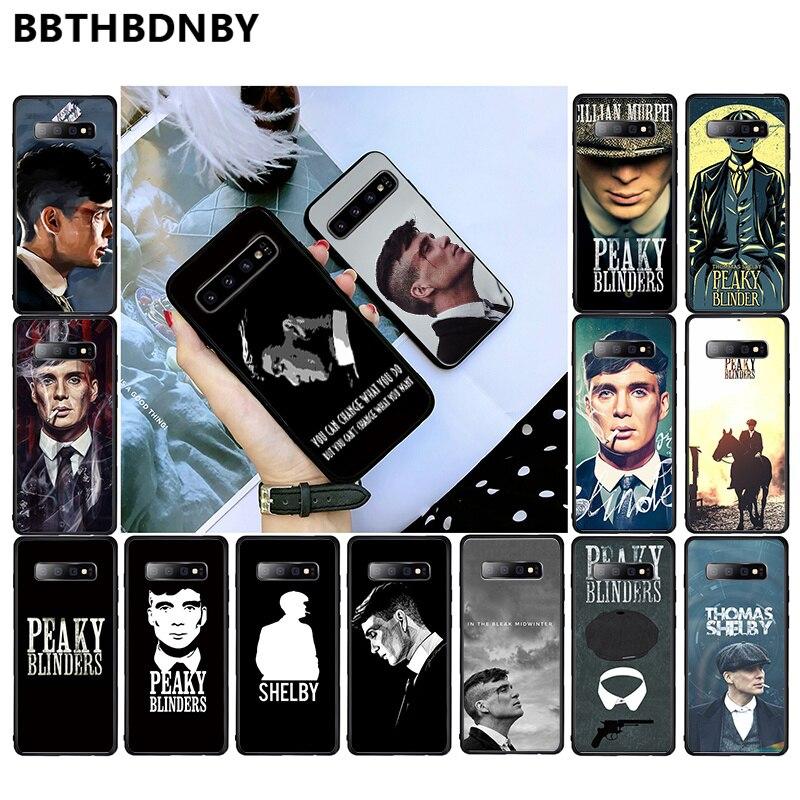 Peaky Blinders, cubierta de teléfono de lujo para Tv de hombre, funda de teléfono de lujo para Samsung S6, S7 edge, S8, S9, S10, e plus, A10, A50, A70, note8, J7, 2017