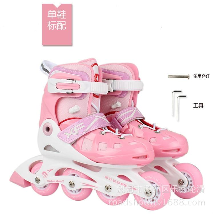 Женские роликовые коньки, роликовые коньки, Розовая обувь, роликовые коньки, четырехколесные скейты, спортивное снаряжение BI50SS