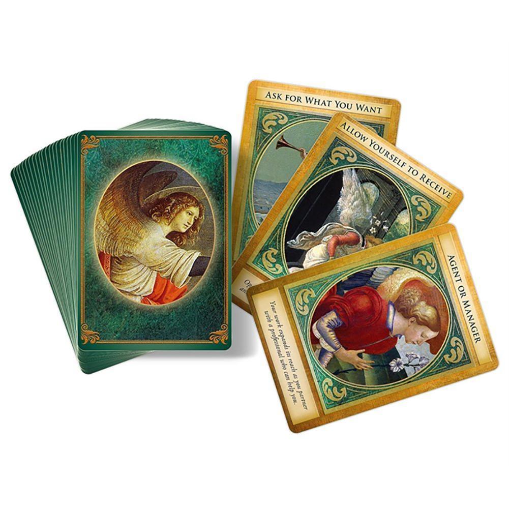 Tarjetas de oráculo Tarot Card 44 Uds Archangel Gabriel Full inglés Friend fiesta entretenimiento juego de mesa juguetes adivinación juego de cartas