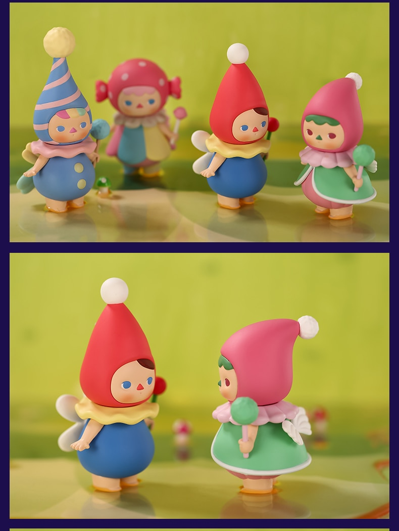 Pop Mart Pucky Floresta Fadas Brinquedos Figura Caixa Cega Aniversário Para A Coleção Frete Grátis Figuras De Ação Aliexpress