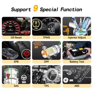 Image 2 - Автомобильный диагностический сканер humзор NexzDAS Pro OBD2, инструмент для диагностики автомобиля IMMO TPMS EPB DPF SAS ABS инжектор для сброса масла PK MK808