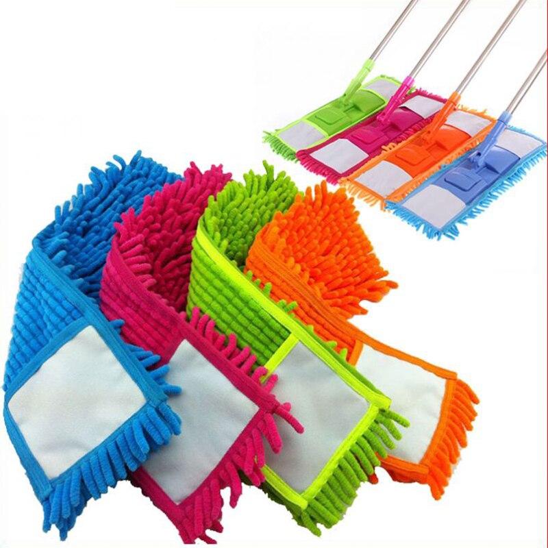 Remplacement de tête de vadrouille tampon de nettoyage à domicile recharge de Chenille remplacement de tête de vadrouille de poussière de ménage approprié pour nettoyer le sol