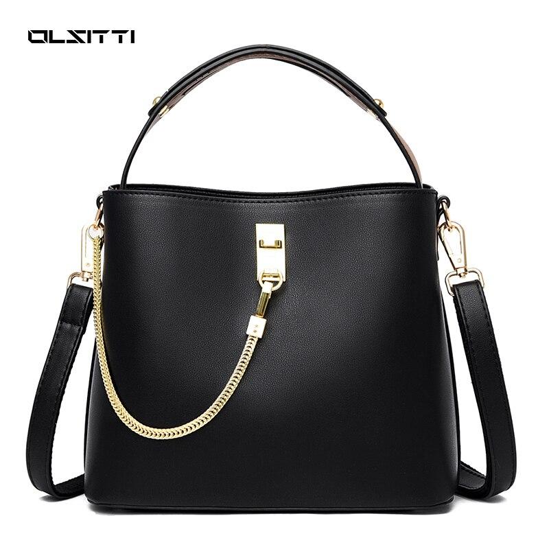 Shoulder Bags for Women 2021 Pu Leather Crossbody Bag Fashion Ladies Handbag Purse Soft Women Messen