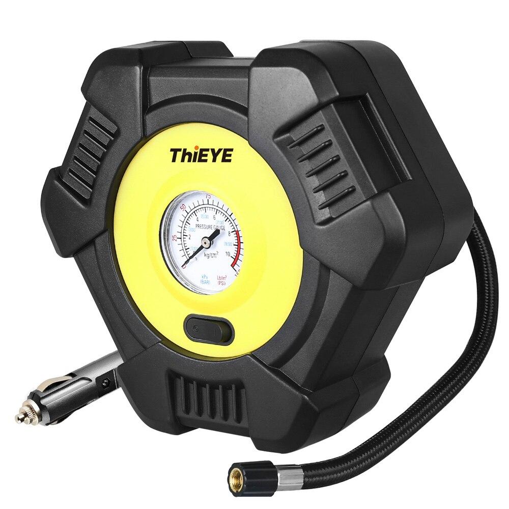 ThiEYE Digital coche inteligente compresor de aire de coche neumático bomba inflable 12V portátil Inflador de neumáticos automático para neumáticos de coche