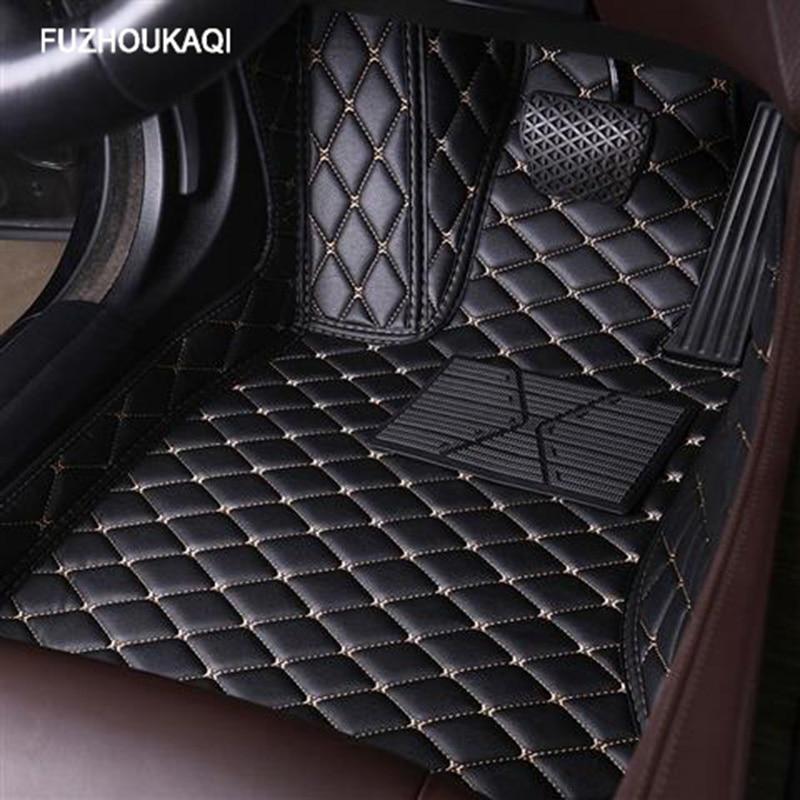 De coche de cuero alfombras de piso todos los modelos para Opel Astra h j. g mokka insignia Cascada corsa adam Opel ampera Andhra zafira estilo piso mat