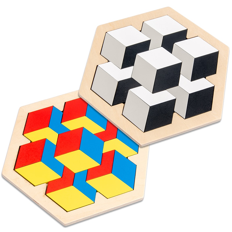 tetris wooden puzzles for children 2 4 years old 3d puzzle jigsaw board educational toys for kids learning games fun letter toy New Kids Wooden 3D Jigsaw Puzzle Clever Board Baby Montessori Educational Learning Toys for Children Geometric Shape Puzzles Toy