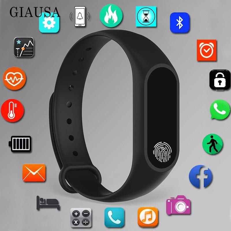 Pulsera deportiva reloj inteligente niños relojes niños para niñas niños reloj inteligente pulsera para niños reloj de pulsera inteligente para Fitness Tracker regalo