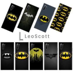 Batman super-herói luxo design exclusivo capa de telefone para samsung galaxy s8 s9 s10 plus lite s10e nota 3 4 5 6 7 8 9 10 pro capa