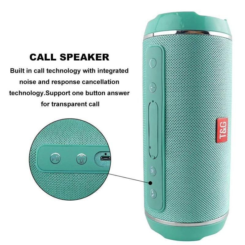 TG116C grande puissance 20W Bluetooth haut-parleur Portable sans fil colonne Subwoofer centre de musique barre de son 3D stéréo BoomBox avec USB TF FM