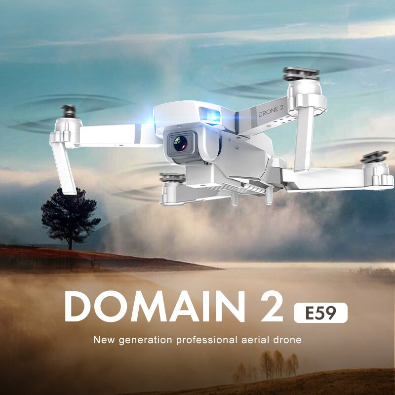 E59 Drone 4K HD Camera Profesional Aerial Photography WIFI Real Time Transmission RC Helicopter 360Degree Flip Quadcopter VS E58 enlarge