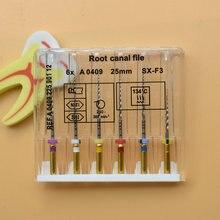 Dental super dateien endo rotary dateien endodontie niti dateien 21mm 25mm nickel titainium instrument SX-F3 zahnmedizin