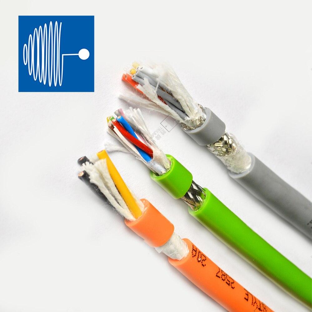 Cable de datos TRIUMPHCABLE 2M UL20886 1,5mm 2,5mm 4 núcleos cadena de...