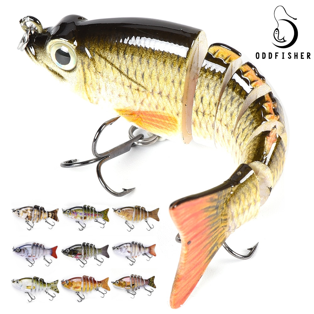 8,5 см, 11 г, рыболовные приманки, мульти Соединенные, плавающие приманки, басы, Crankbait для воблеров, щука, искусственные приманки, Walleye для пресной воды