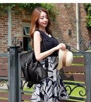 yilian large capacity backpack female 2021 new soft leather fashion simple shopping travel backpack versatile womens bag