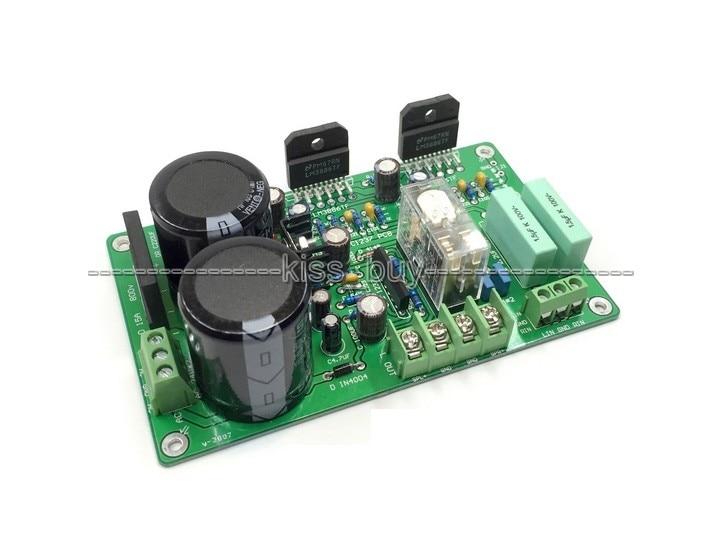 HiFi LM3886 усилитель мощности плата с защитой динамика 68 Вт 38 Вт 50 Вт
