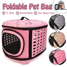 Sac de voyage pour chiens Portable   Cage pliable pour animaux domestiques, sac de transport pour chien chat, chiot, cochon dinde Hamster