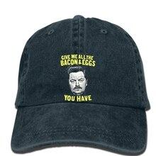 Hip-hopowe czapki baseballowe T tnienia Junction Park w Rekreacji Boczek i Jaj Ron m ska cap