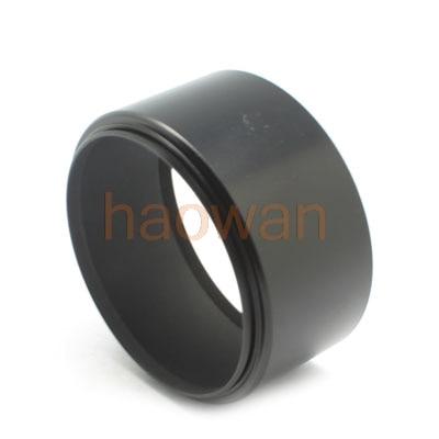 Evrensel 37 39 40.5 43 46 49 52 55 58 mm tele vida montaj Metal objektif davlumbaz kapağı için canon nikon sony pentax olympus kamera