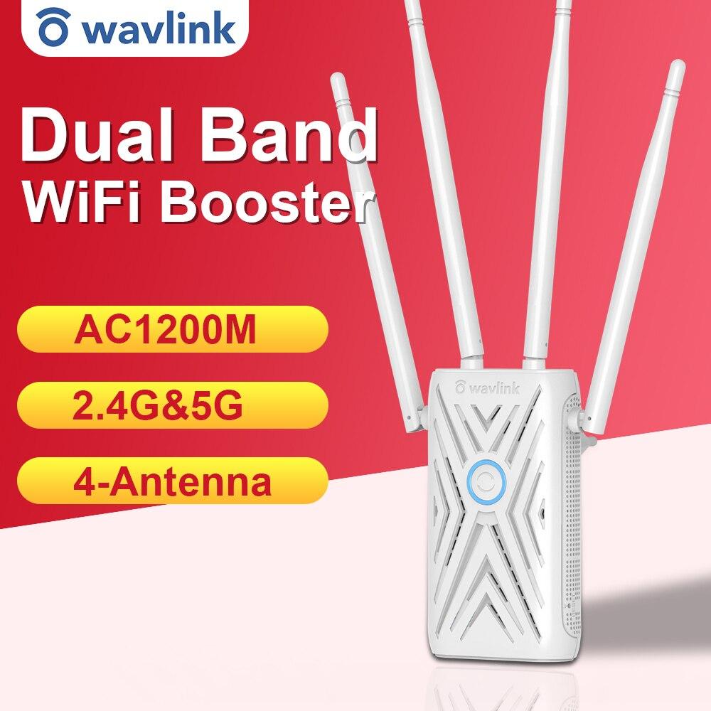 Amplificador de señal WiFi de doble banda, repetidor de señal de largo...