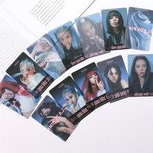 12 pièces/ensemble Kpop Blackpink nouvel Album Photo Lisa Jennie Rose Jisoo carte Photo transparente bonne qualité carte fournitures nouveauté
