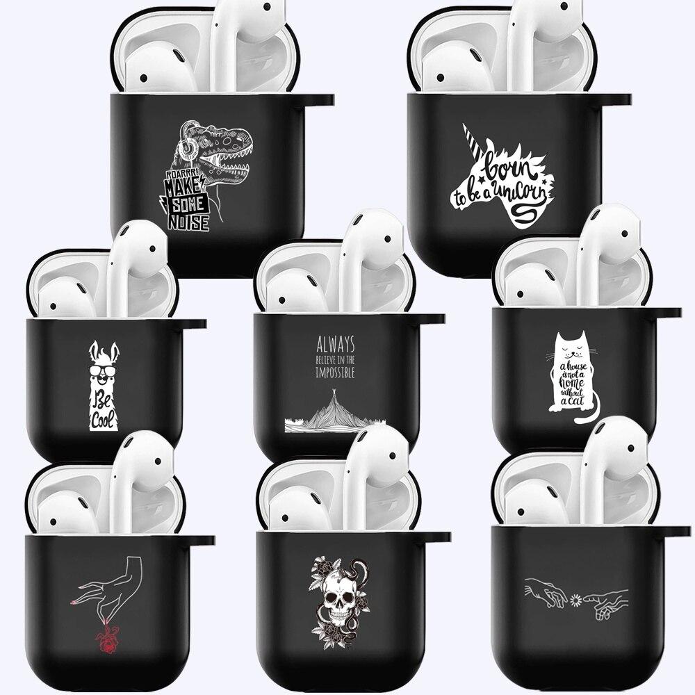 Силиконовый чехол для Airpods 1 2nd, противоударный защитный чехол для наушников Apple Airpods 1 и 2, противоударный чехол чехол