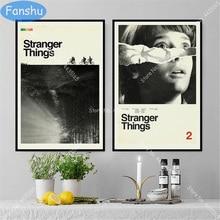 Stranger Dingen Nieuwe Seizoen Poster Netflix Hot Tv Series Canvas Posters En Prints Wall Art Foto Woonkamer Thuis decor