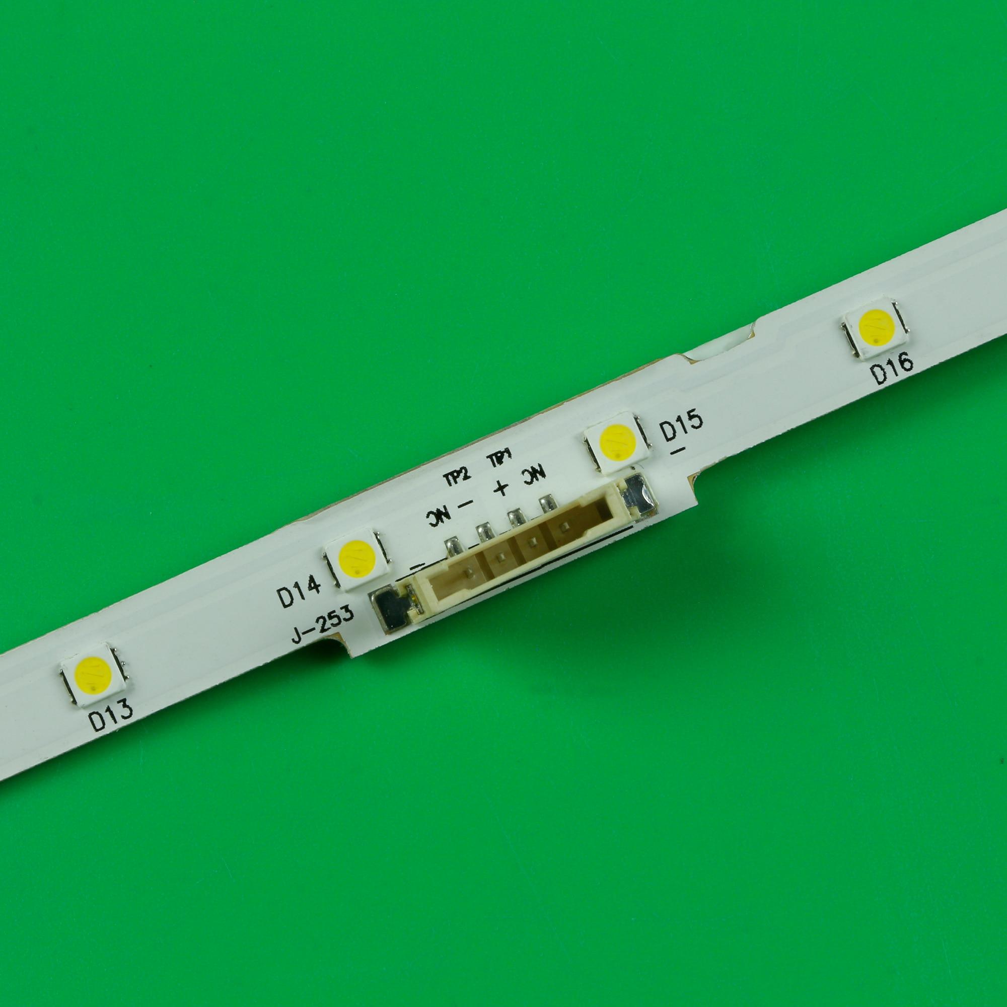 30PCS LED Backlight Strips For Samsung  UE43NU7100 UN43NU7100 UE43NU7100U AOT_43_NU7100F UE43NU7120U UE43NU7170U BN96-45954A enlarge