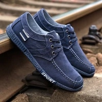 canvas men casual shoes lac up men shoes lightweight comfortable breathable walking sneakers tenis masculino zapatillas hombre