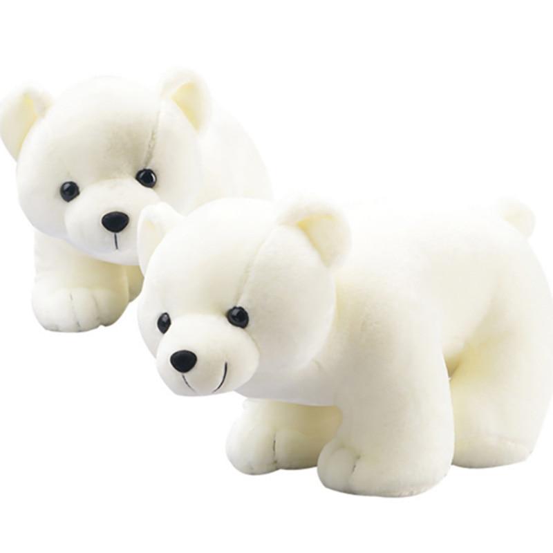 Polar Bear Plush Toys Small Size Cute Animals Doll Soft Cotton Plush Toys Kids