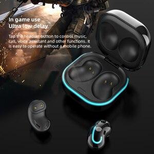 Image 5 - Беспроводные наушники XVIDA S6 SE TWS гарнитура Bluetooth 5,0 наушники HIFI Звук мини наушники с зарядным устройством для всех смартфонов