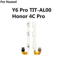Новинка кнопка включения/выключения громкости вверх и вниз сменный гибкий кабель для Huawei Y6 Pro TIT-AL00 Honor 4C Pro