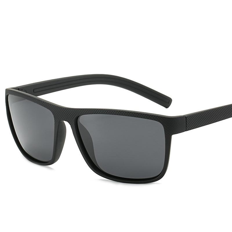 Gafas de sol polarizadas elásticas negras cómodas de conducción de pesca gafas de sol de venta rápida
