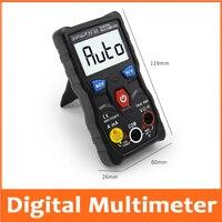 Digital Multimeter tester autoranging True rms automotriz Mmultimetro with NCV LCD backlight+Flashlight like RM403B