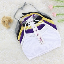 1 pcs Teen bra girl vest Cotton Big Girl's Underwear Bras Adolescente Kids Camisoles Sports Bra Trai