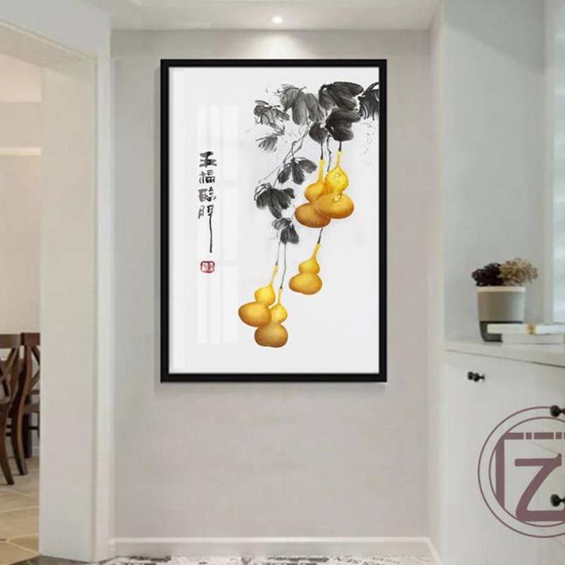 Empurrar para a direita versão vertical decoração pintura caixa de pintura minimalista moderno interruptor de alimentação decorativo pendurado caixa de medidor de pintura