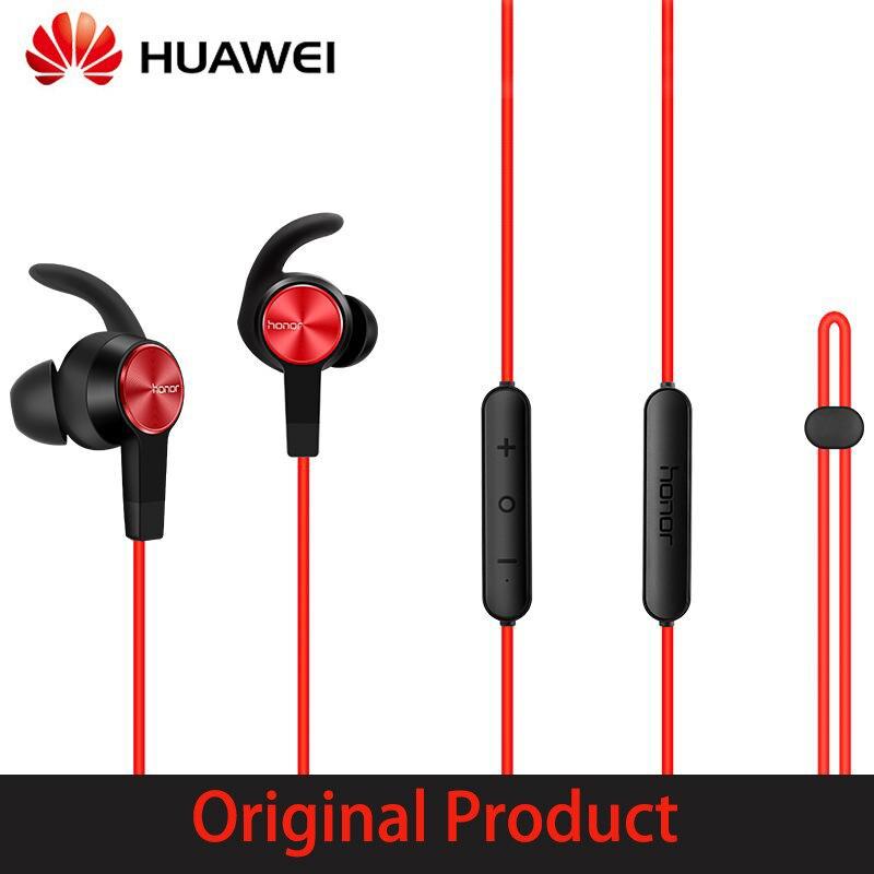 Original huawei honra xsport am61 magentic sem fio bluetooth esporte fone de ouvido à prova dipágua ipx5 estéreo baixo com microfone