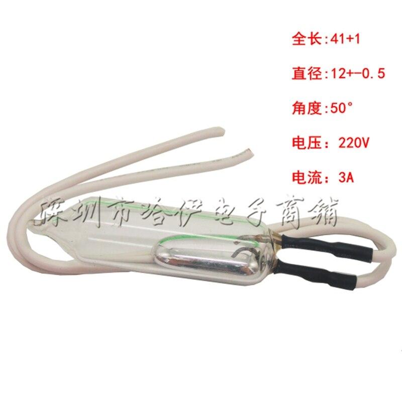 212 mercury switch 220V 3A 12mm
