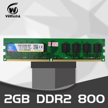 Veineda mesa computador ram ddr2 1gb 2gb 4gb 533 667 800hmz pc2 6400 memória ddr 2 PC2-6400 240pin para amd intel desktop