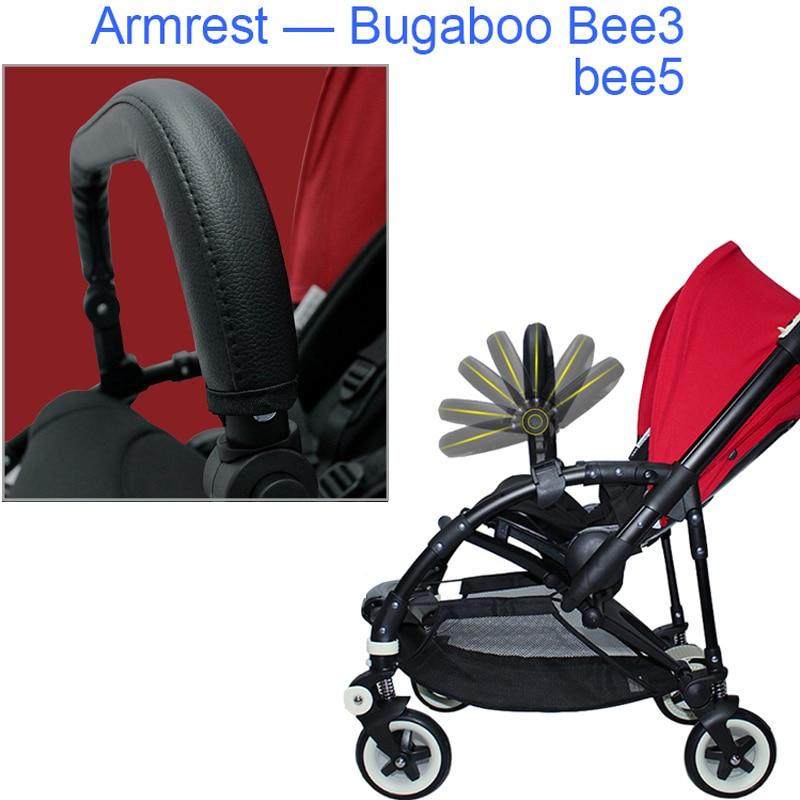 Bugaboo Bee 5 accessori passeggino paraurti poggiatesta in pelle bracciolo anteriore per passeggino Bugaboo Bee3 Bee 5