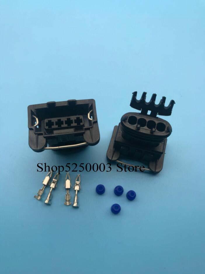 Conector automático impermeable para coche de 4 pines (3,5) mujer 282192-1 efi...