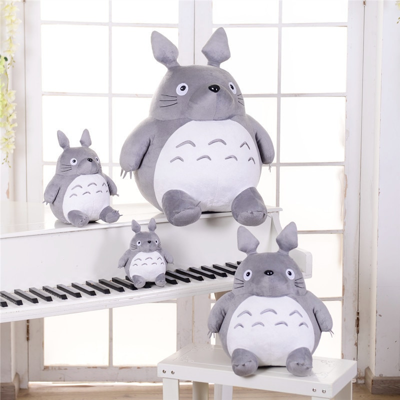 Hot Totoro Soft Stuffed Animal Cushion My Neighbor Plush Doll Toy Pillow  For Kids Baby Birthday Christmas Gifts 8/20cm