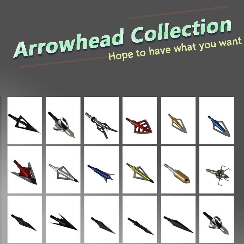 1PCS Archery Shooting Broadhead Arrowhead Point Tip Goods For Hunting Bow And Arrow Accessories Outdoor Games 10pcs bow fishing arrowheads boardhead archery bowfishing tip point fish tools 2 fixed blades for outdoor shooting accessories
