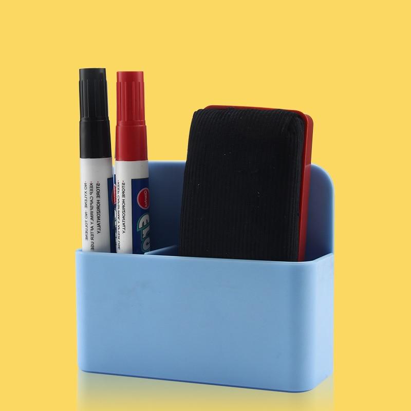 Магнитный ящик для хранения на холодильник, банки, маркеры, подставка для ручек и карандашей, стол, органайзер, контейнер для хранения, магни...