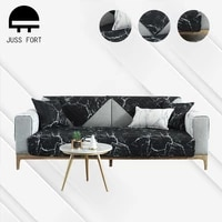 marble print non slip sofa cover slipcover mat all inclusive removable multi size corner sofa towel for sectional couch cushion