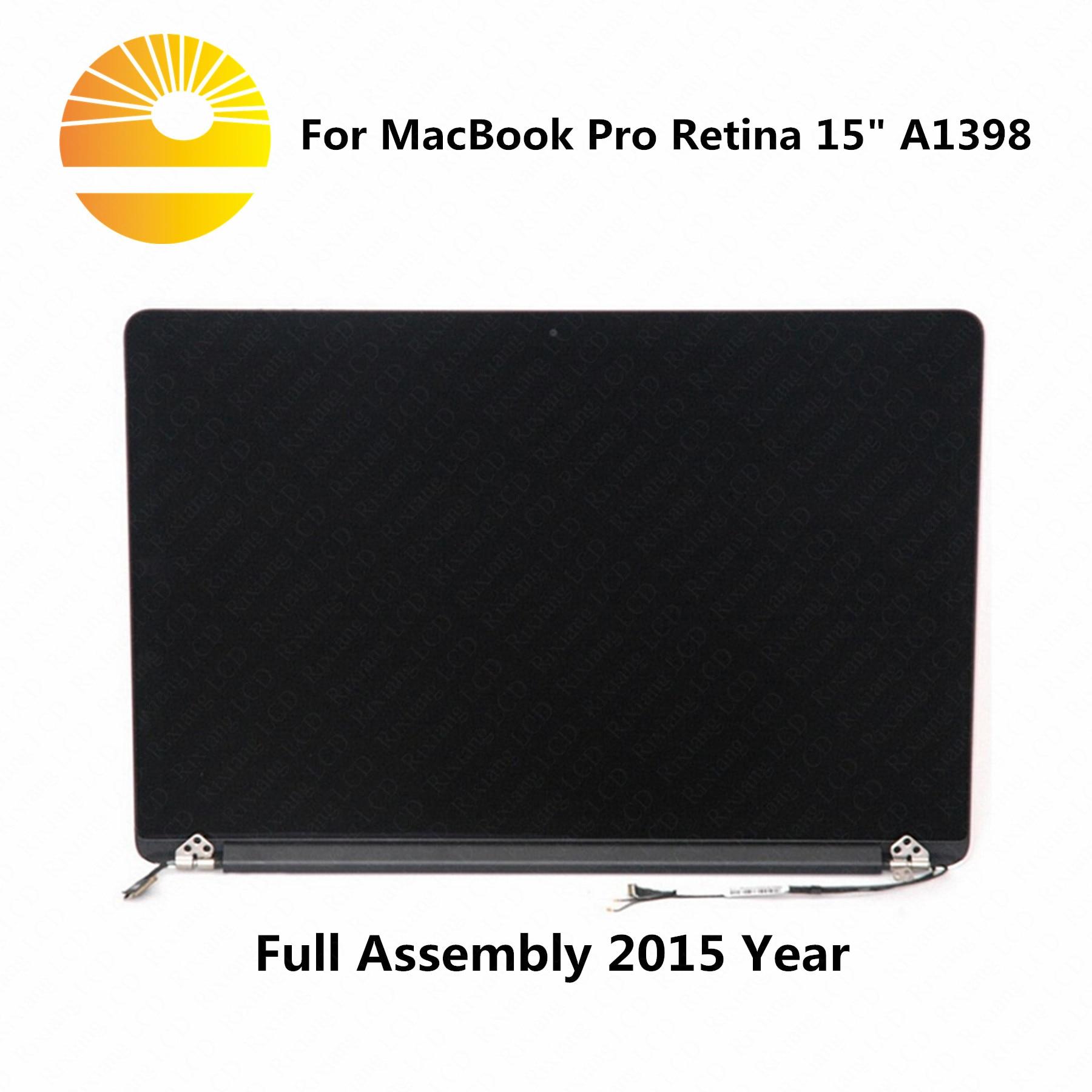 """Usado como reemplazo de la pantalla lcd de Año Nuevo 2015 para MacBook Pro Retina 15 """"A1398 montaje de pantalla lcd con agujero pequeño"""