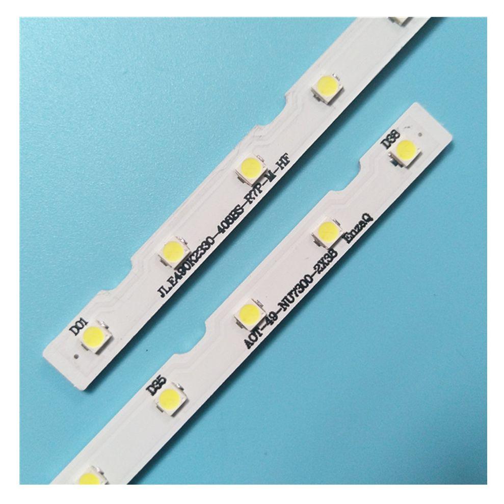 10 قطعة LED بار لسامسونج 49NU7100 UA49NU7100 UN49NU7100 UE49NU7100 UN49NU7100AG UN49NU7100G UN49NU7300 UE49NU7300U UE49NU7170U