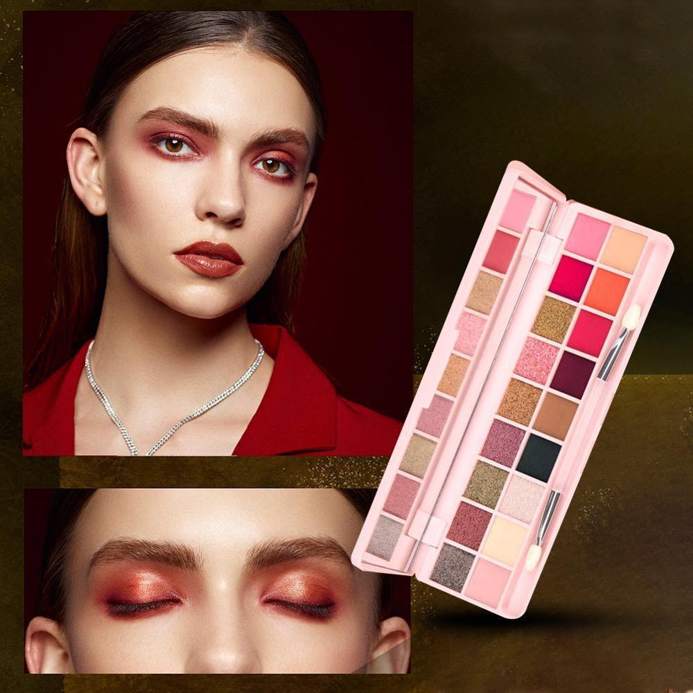 2020 Natural paleta de sombra de ojos mate brillo paleta sombra de ojos maquillaje ojo cartilla luminosa maquillaje regalo